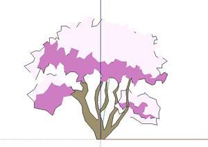 手绘2d灌木6sketchup(su(草图大师))3d模型