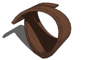 现代抽象雕塑景观8SketchUp(SU)3D模型
