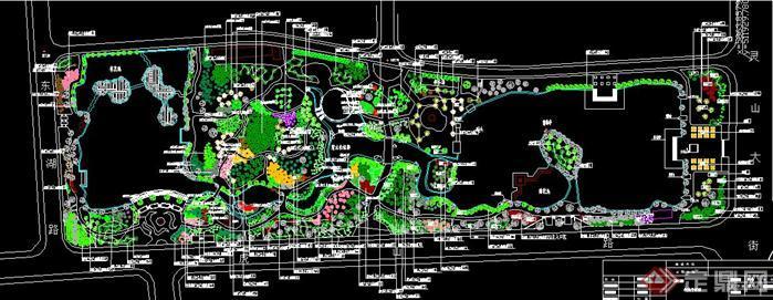 某公园植物配置图