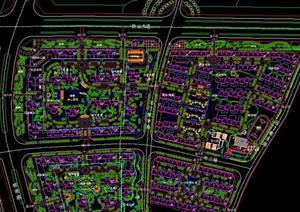 都水郡小区规划设计方案总平面图