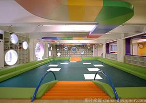 国外一个室内儿童趣味空间设计案例