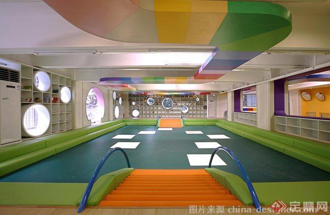 国外一个室内儿童趣味空间设计案例1