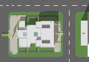 博物馆建筑设计方案学生作业
