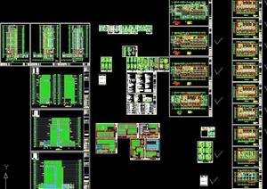苏州某高档节能楼建筑设计、幕墙设计与施工设计整套59张图纸