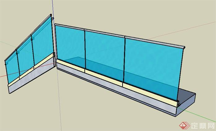 150种栏杆组件sketchup模型