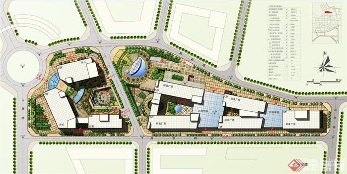 某科技创意产业园建筑方案设计文本