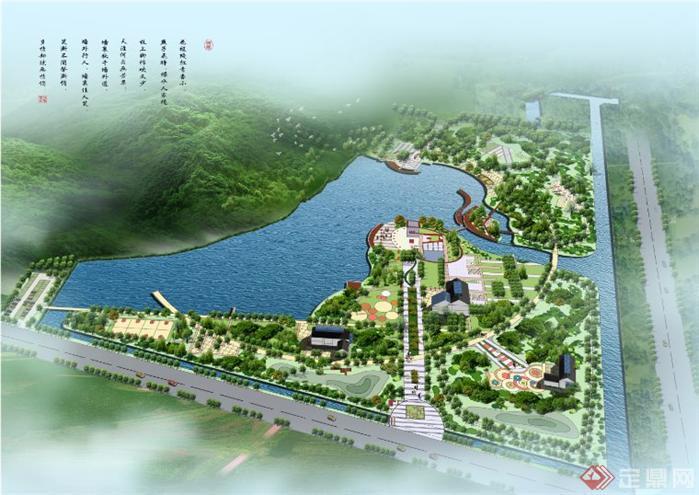公园规划设计方案全套文本1