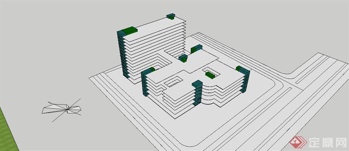 医院建筑设计方案3
