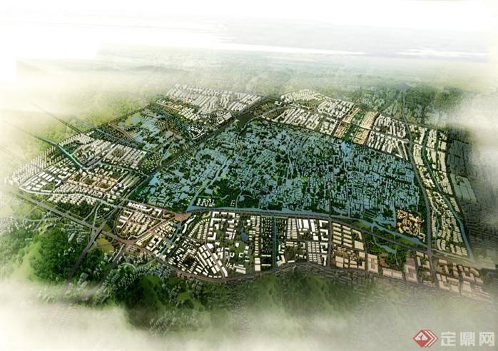 某湿地公园国际城市综合体概念规划设计文本[原创]