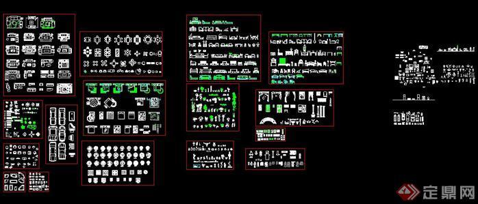 史上最全CAD素材总图块2