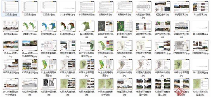 旅游小镇修建性详细规划设计文本