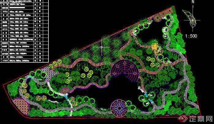 湿地公园平面图内容湿地公园平面图版面设计