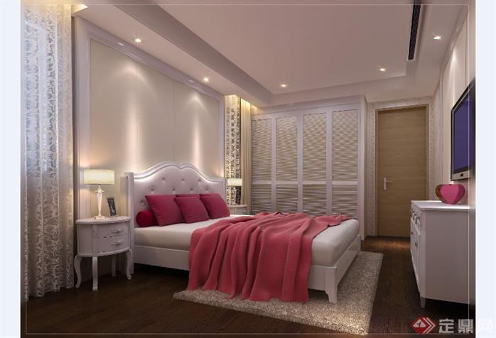 别墅室内设计方案全套CAD施工图(含效果图)3