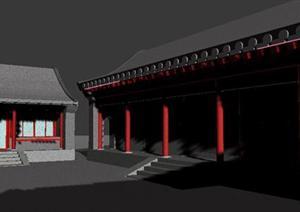 古建筑精细3DMAX模型