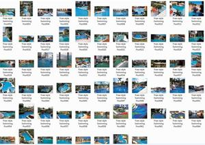 近百种自由式游泳池图片(设计参考)