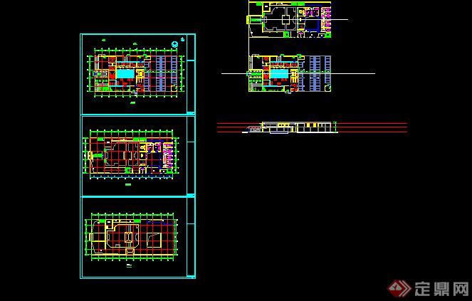 中式会所建筑设计方案(含效果图)3