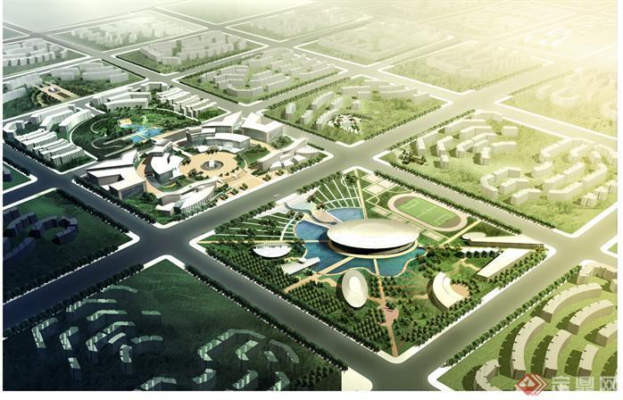 北京一个文化居住区景观设计全套文本[原创]