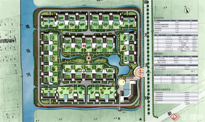 疗养院建筑规划设计文本高清图片