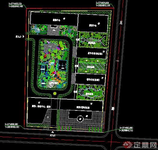 养老院(老年公寓)建筑规划设计方案图2