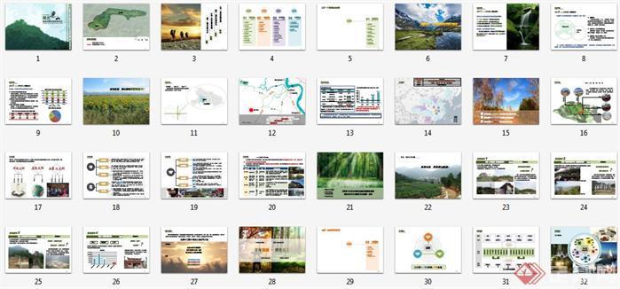 湖北某旅游风景区概念性规划设计文本4