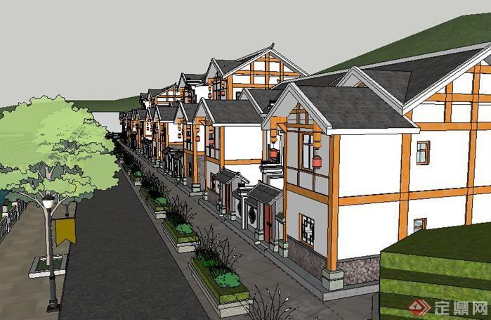 新農村建設項目規劃方案su精致設計模型[原創]