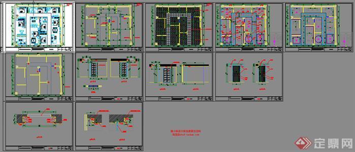 欧博特家具展厅SU精品设计模型(整套CAD图纸+效果图+动画)(5)