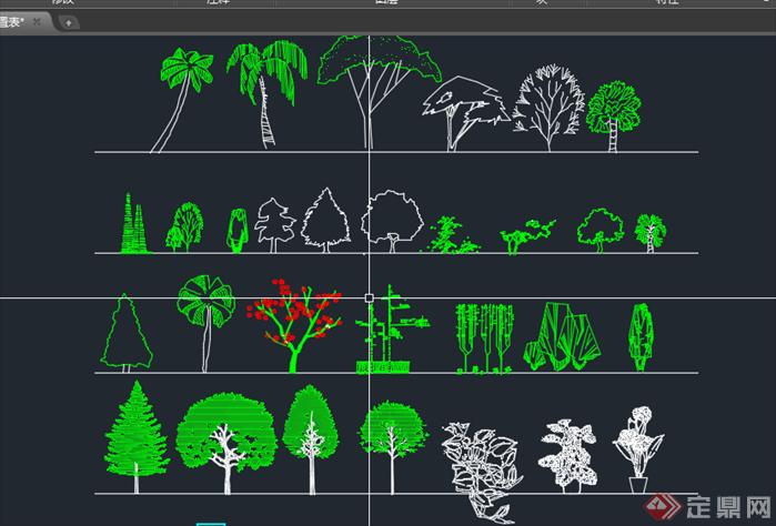 植物图例 植物配置表整理合集2