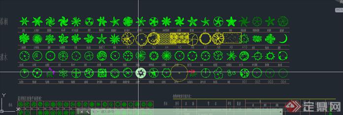 植物图例 植物配置表整理合集4