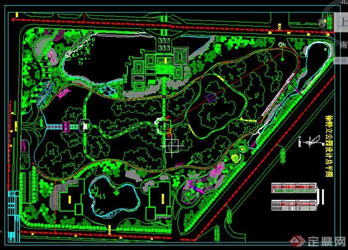图纸园林设计CAD公园60套免费的哪里有图纸安装下载软件图片