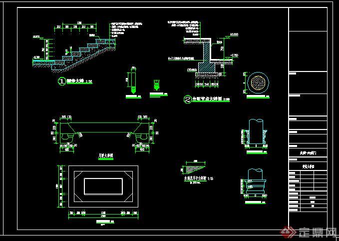 某古建文庙-大成门建筑施工图—单层单檐框架结构223平(7)