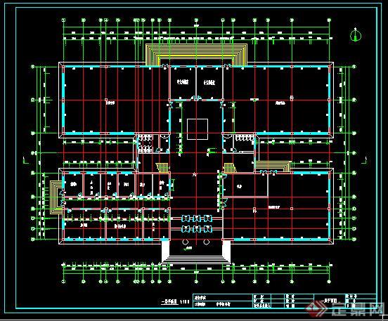某图书馆确定毕业设计(成套cad图纸、18张效cad怎么点建筑图片