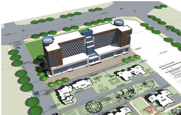 某养老院建筑设计方案ppt文稿图片