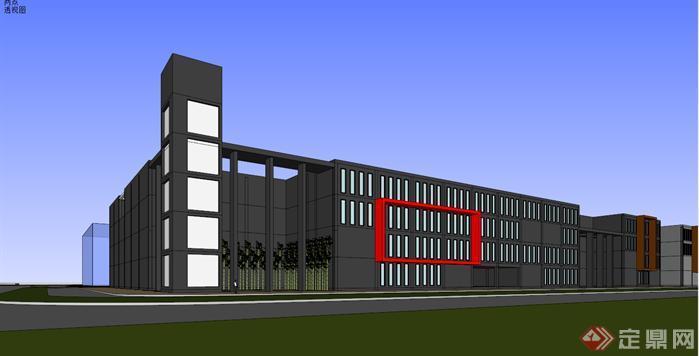 关于我国现代工业建筑设计应对策略探讨图片