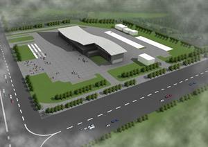 汽车客运站建筑设计方案图