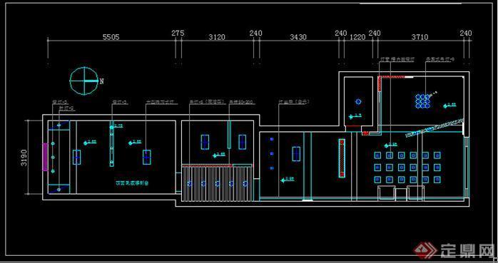 牙科诊所建筑装修图-约80平(5)