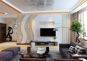 家装设计效果图 包含3d源文件