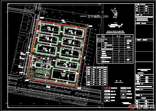 某厂房规划设计平面图