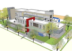某幼儿园建筑方案设计