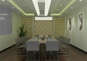 重庆某会议室3D效果图