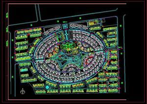 景观小区规划设计总平面图