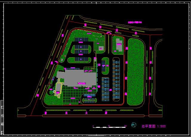 某汽车客运站建筑设计方案图