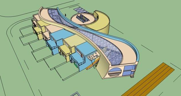 幼儿园建筑设计大二作业