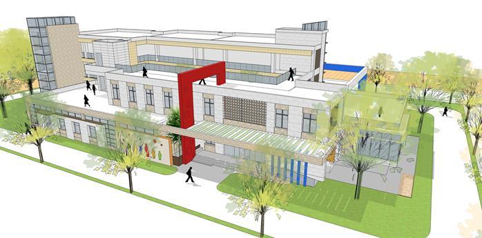 某幼儿园建筑方案设计3