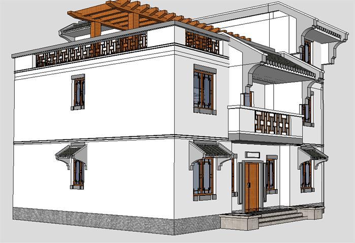 小别墅建筑设计方案