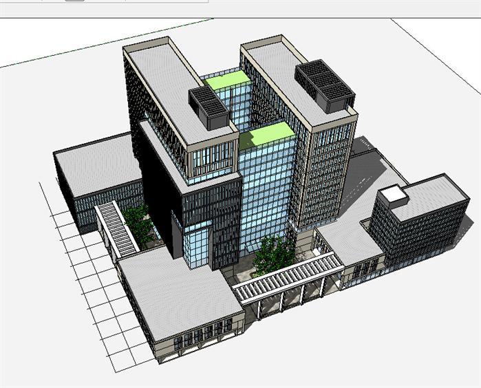 建筑透视轴测图