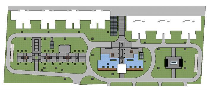 某居住区景观设计方案平面图 7