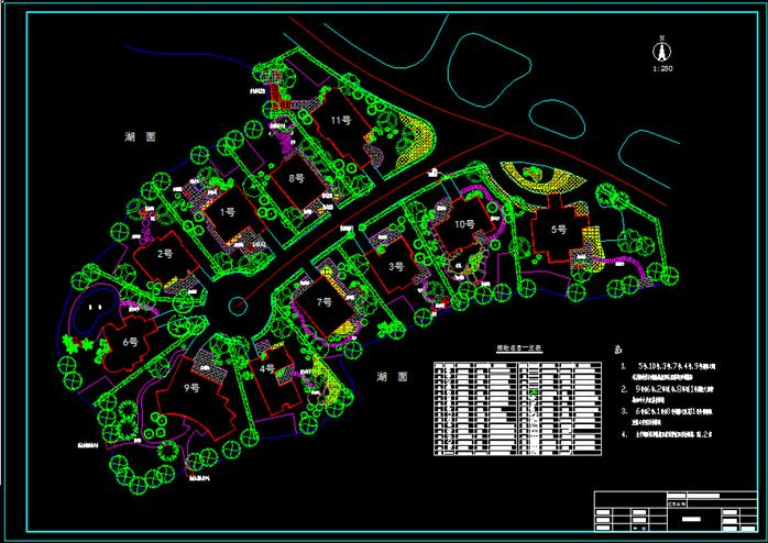 某小区园林景观设计方案图 cad图纸 3