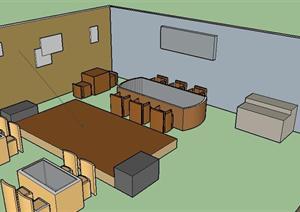 某咖啡馆室内设计方案(作业)