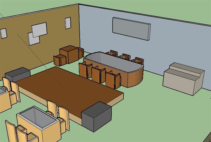 某咖啡馆室内设计方案(作业)1