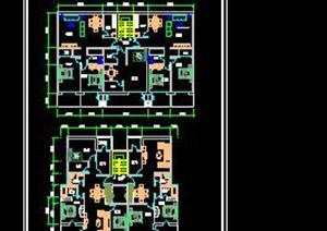 某节能住宅户型平面CAD方案设计